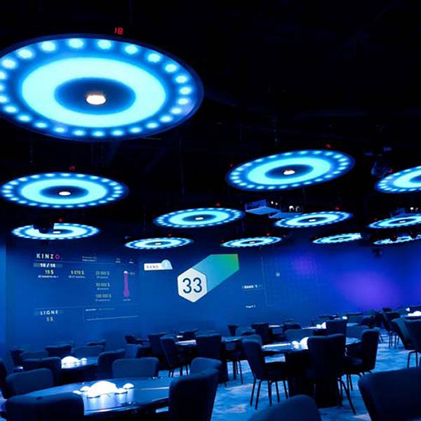 Kinzo Gaming Hall Installation - Custom Hospitality Furniture