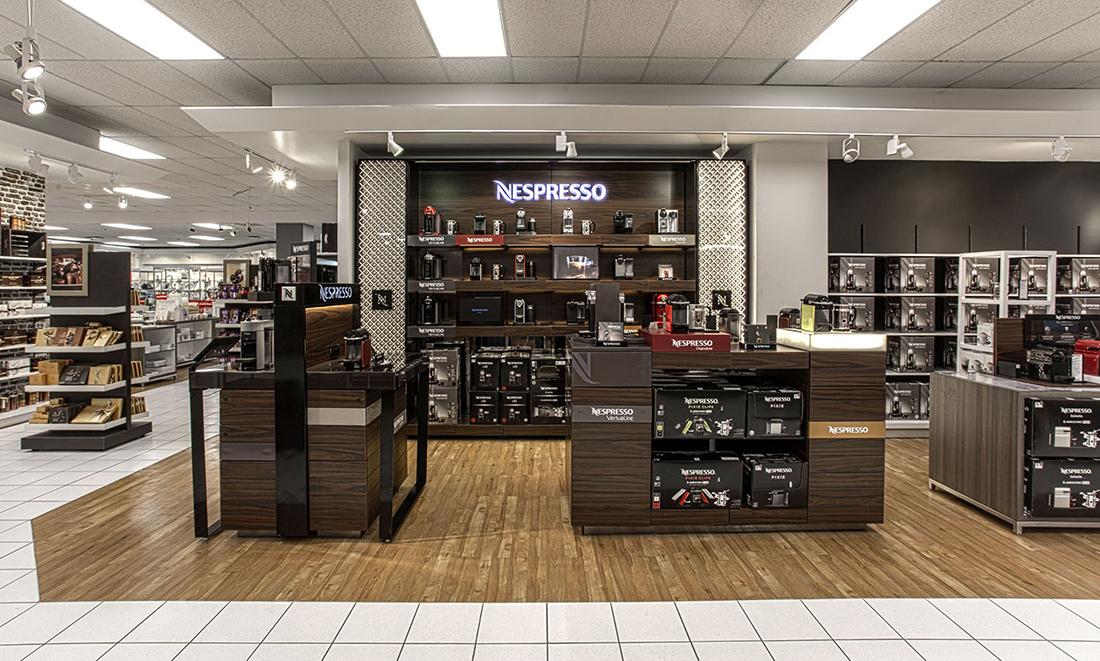 Nespresso Store Installation - Custom Retail Furniture