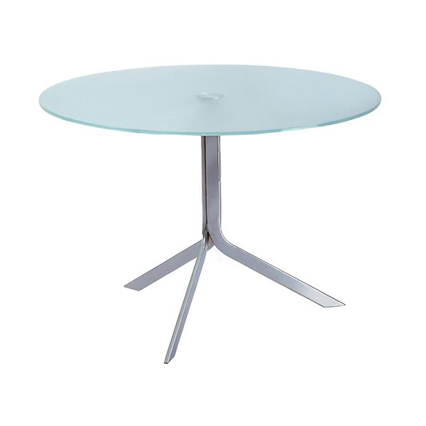 Gass table Restaurant Installation - Custom Dining Furniture