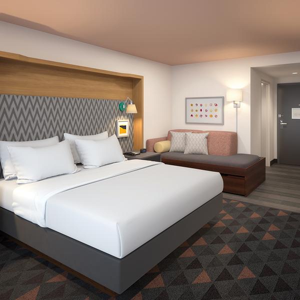 Hotel Installation - Custom Hospitality Furniture