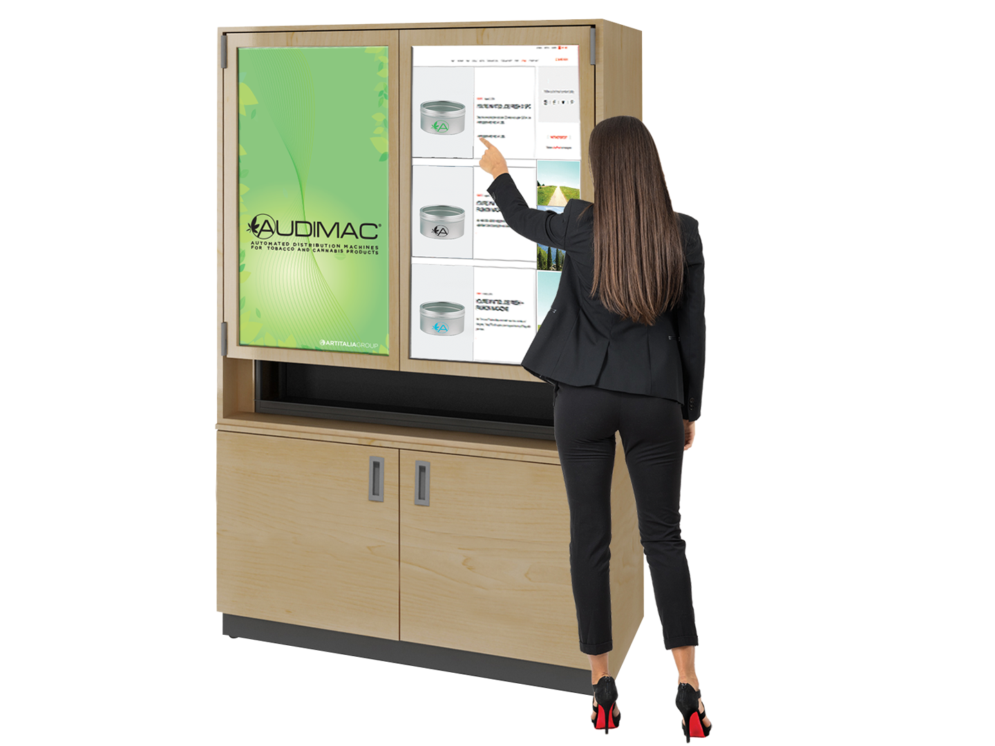 Controlled Product Management and Distribution System for Convinience Store and Dispensaries