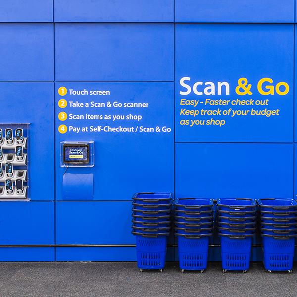Walmart Smart Solution: Scan & Go