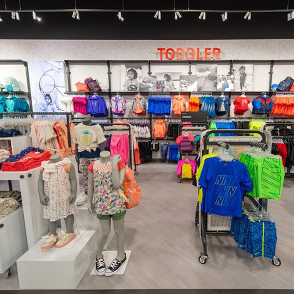 Sport Chek Kids Store Design - Custom Retail Furniture