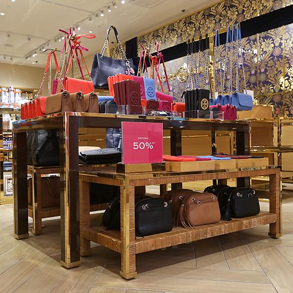 Tory Burch Store Design - Custom Retail Furniture
