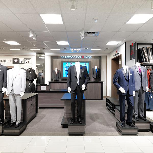 Tuxshop Store Installation - Custom Retail Furniture
