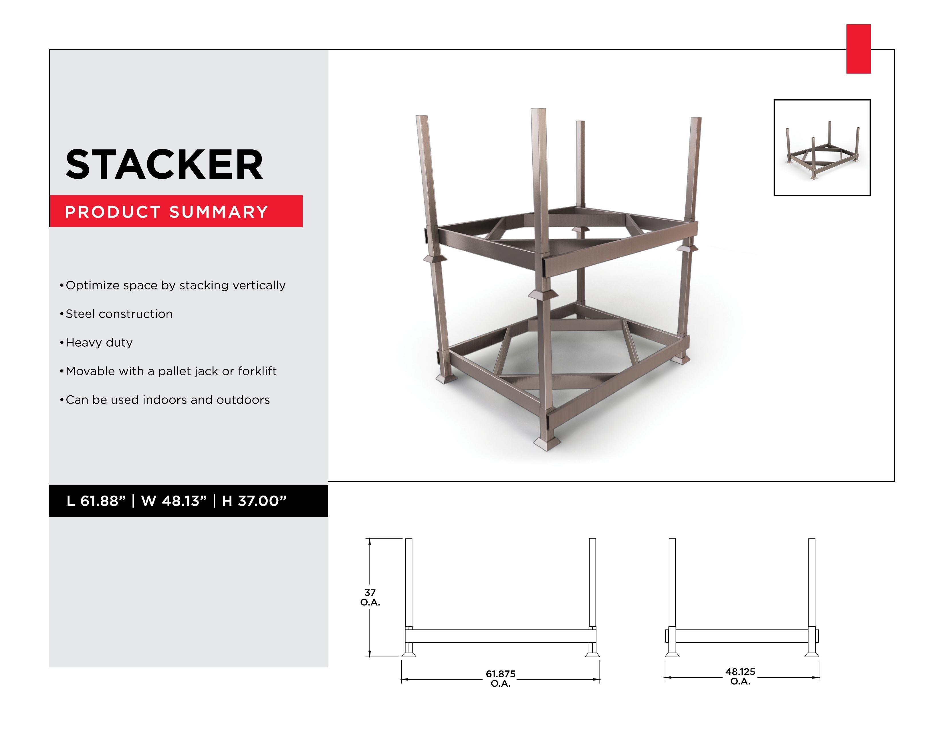 Stacker - Vertical Warehouse Storage Solution