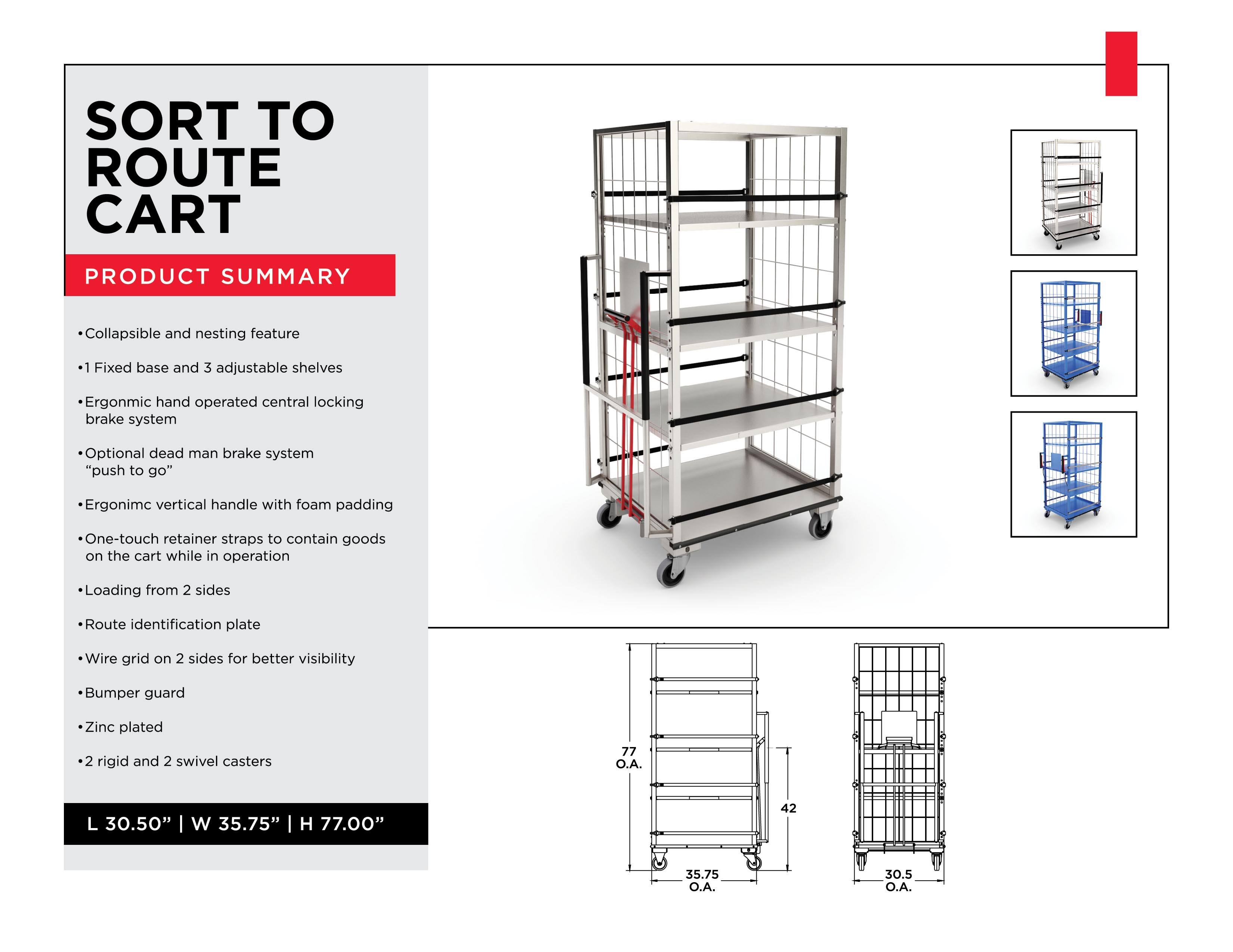 Inventory Distribution Mangement: Sort To Route Cart