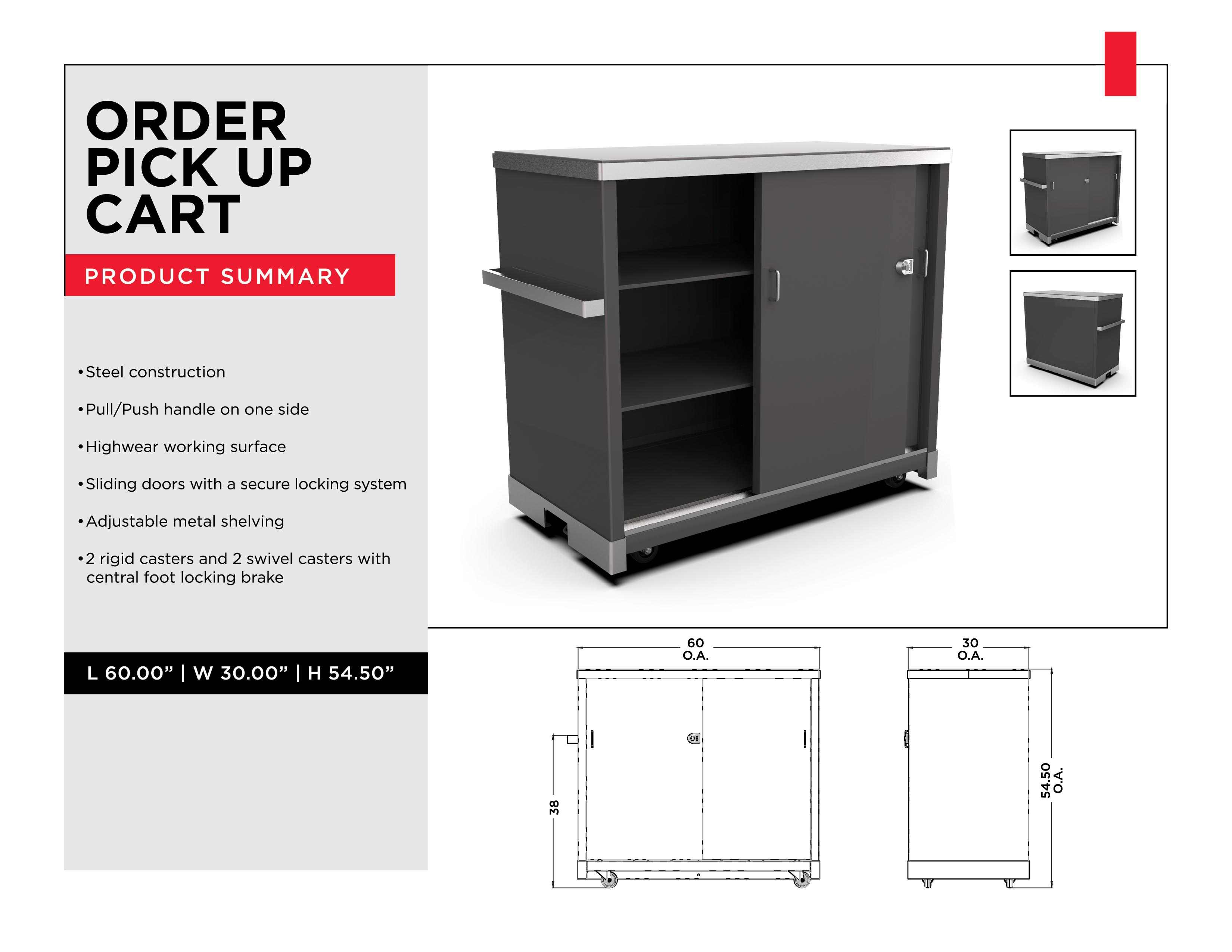 Retail Display Solutions: Order Pick Up Cart