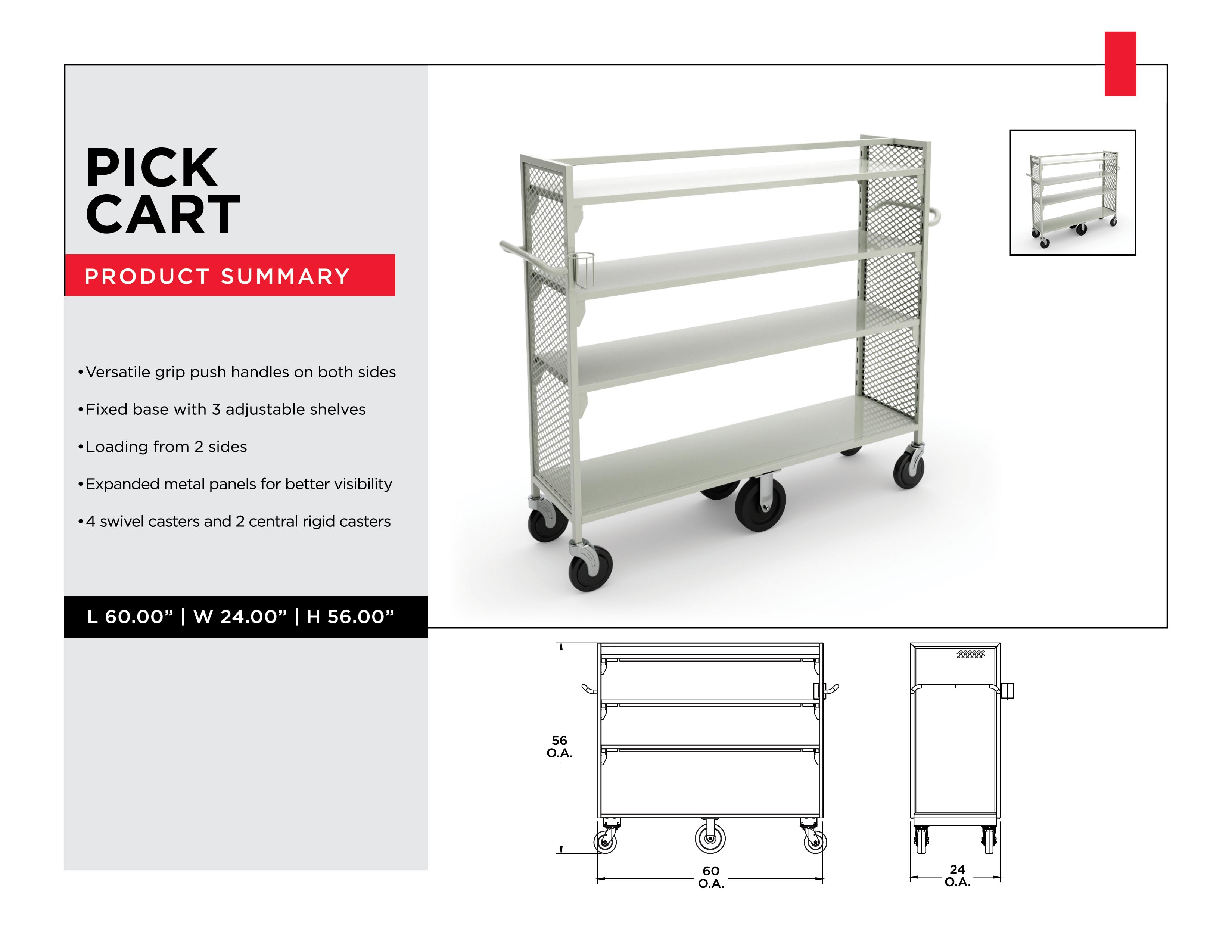 Retail Inventory Management: Pick Cart