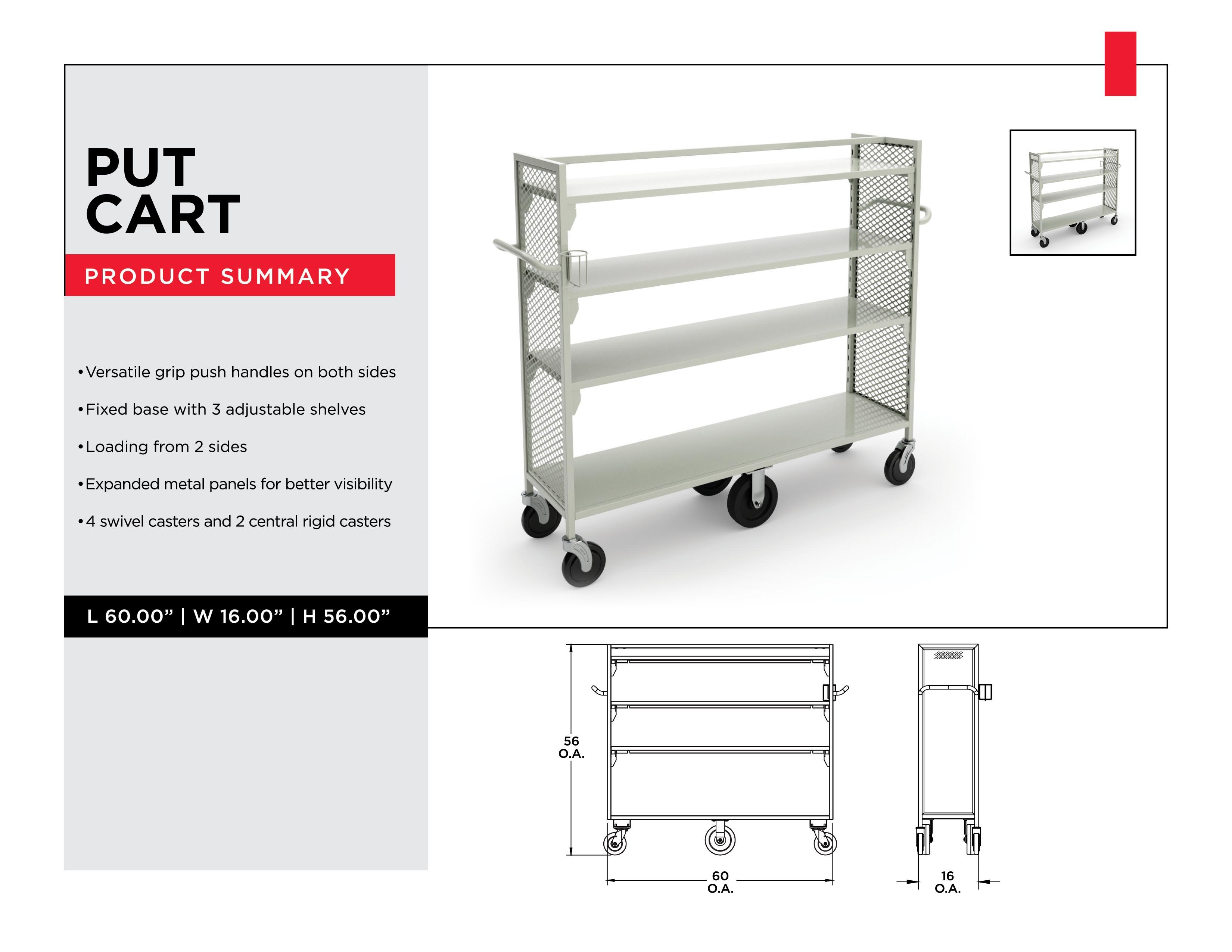Retail Inventory Management: Put Cart