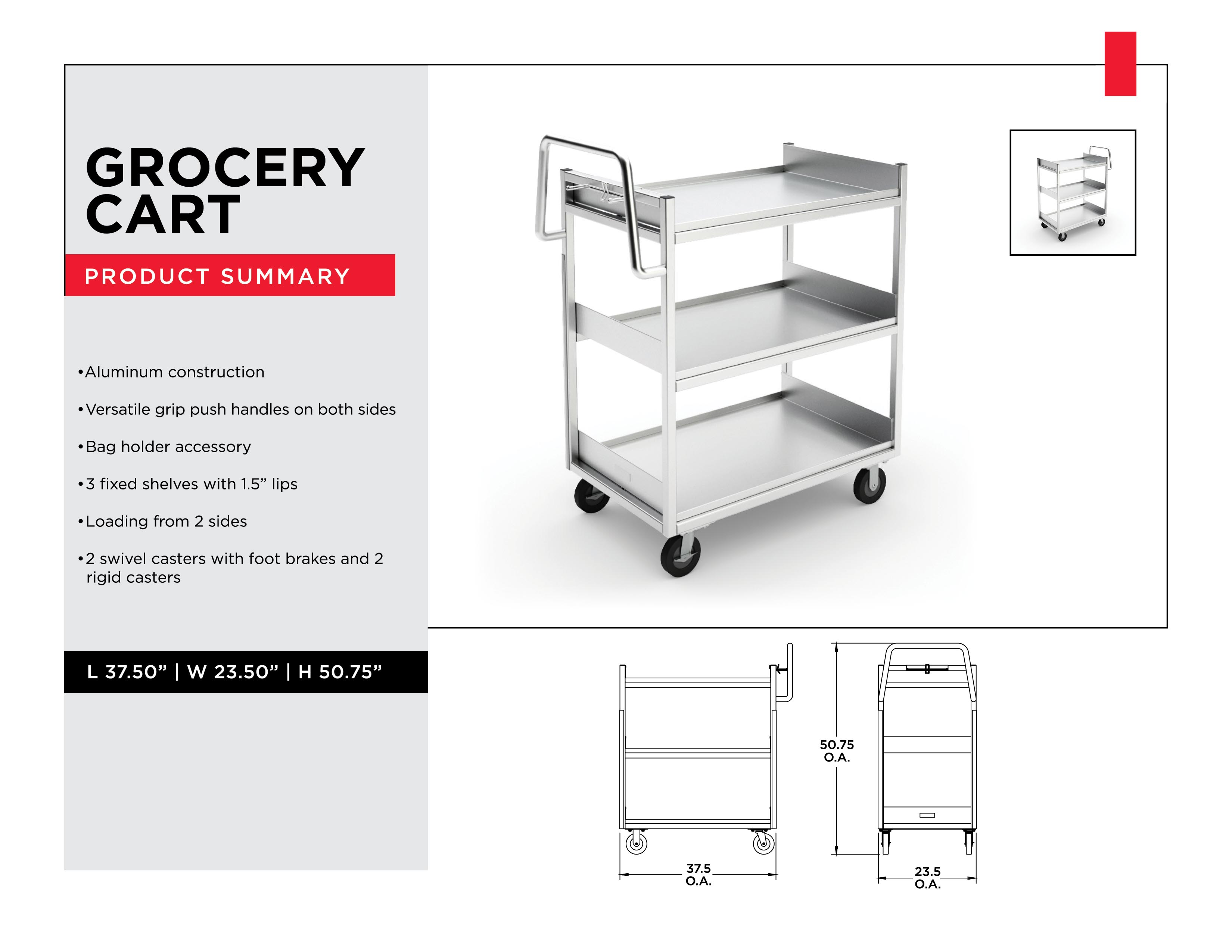Retail Inventory Management: Grocery Cart