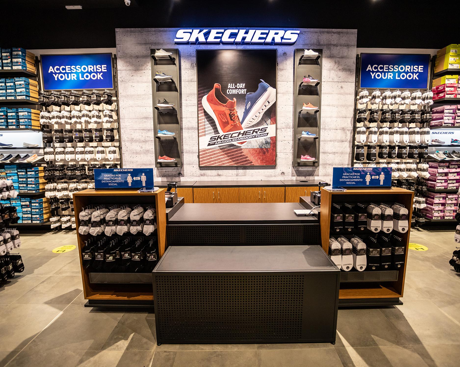 Skechers Store Design - Custom Retail Furniture